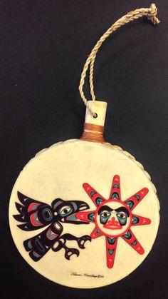 Tlingit Northwest Native American RAVEN by NorthwestNativeGifts