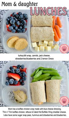Don't forget to make yourself a yummy lunch too!