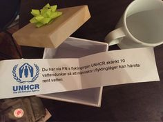 Perfect gift from the organizers! #UNHCR #hållbartmöte #sustainabletourism #Nalen