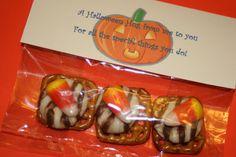 Cute halloween treat for teachers kids can make