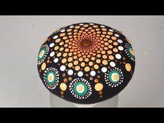 Mandala paso a paso en piedra - YouTube