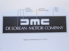 eBay user dmcseller has listed a fascinating DeLorean Motor Company Identification Standards Manual, a 1982 booklet that highlights the graphic standards for the iconic DeLorean car company--includ...