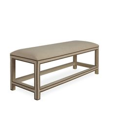Maybe -  Harper Bench Ottoman in Patton Flax, MBR End of Bed