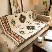 Smart Home Frugal Mandala Sofa Throw Blanket Boho Knit Chair Sofa Cover Towel Bohemian Carpet Table Cloth Cotton Plaids Bedding Covertapestry Various Styles