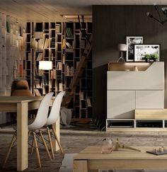 Salon - Living room  Catálogo Cubika 2015 www.exojo.com #salones #living room