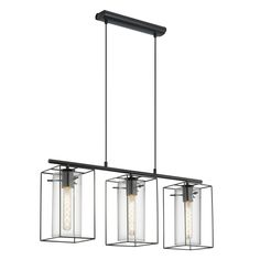 Proizvod iz kategorije: Lampe, Lusteri (visilice), proizvođača: Eglo, boja proizvoda: crna, od materijala : aluminijum, staklo, po ceni od: 14256 RSD. Šifra proizvoda: Eglo 49496