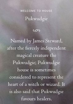 Pukwudgie Description.