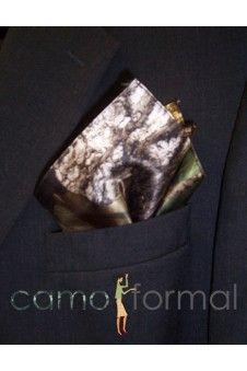 Grooms pocket square