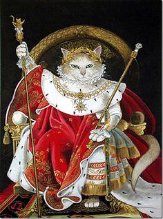 Gatto da Napoleone imperatore