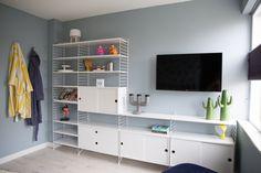 Femkeido | Femkeido Projects: Slaapverdieping Heerhugowaard Living Room Tv Unit, E Room, Home Decor, Room Inspiration, Home Deco, Main Bedroom, Living Room Inspiration, Room Inspo, Living Room Tv