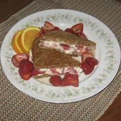 Toasted Strawberry-Cream Cheese Breakfast Sandwiches