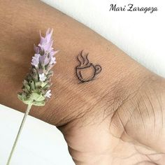 Coffee lover tattoo