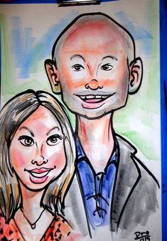 We provide caricature in color with the best and most premium colored markers, pencils or crayons to color in the outlined black-and-white caricature. We also create Caricature art from digital photos. Caricature Artist, To Color, Crayons, Markers, The Creator, Black And White, Create, Digital, Photos