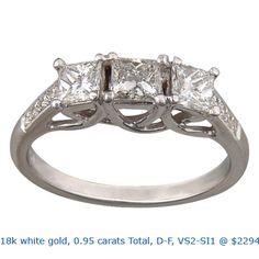 Diamante diamante diamante con anillos de compromiso