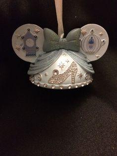 Cindarella Ear Hat Ornament