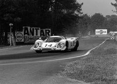 Kurt Ahrens Jr. & Rolf Stommelen, Porsche 917LH, 1969 24 Heures du Mans, Arnage Corner