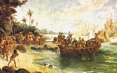 Desembarque de Pedro Álvares Cabral em Porto Seguro em 1500