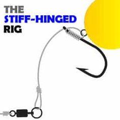 stiff hinged rig