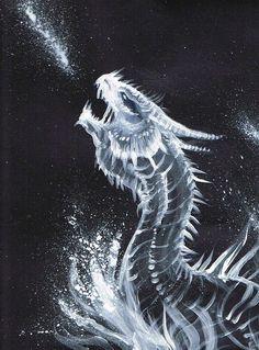 Baby Ice Dragon by Kel-Del on DeviantArt