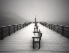 the winter pier, nice shot