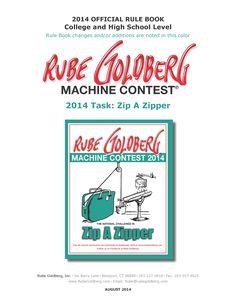 Rube Goldberg : Machine Contests
