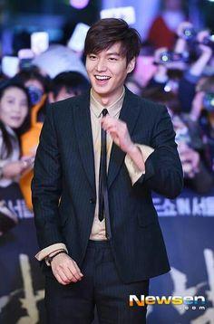 Lee Min Ho | Gangnam 1970 red carpet and showcase 01.06.2015