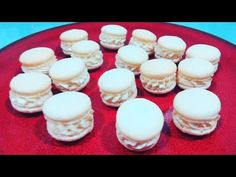 Macarons, Mini Cupcakes, Coco, Candy, Desserts, Bar, Youtube, Food And Drinks, Sweet
