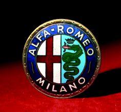 Logo Alfa Romeo 1950 - 1960