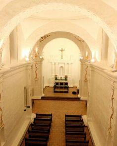 Interior de la iglesia de Nuestra Señora de Caborca. Méjico.
