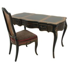Check out this item at One Kings Lane! Drexel Provençal-Style Desk & Chair