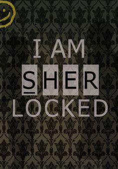 Sherlocked Art Print/Society 6