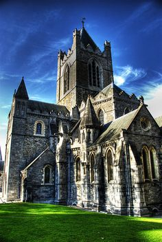 Christchurch Cathedral, Dublin Ireland...by Patrick Theiner, via Flickr