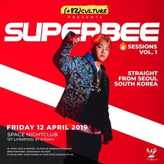 Fresh off the start of 2019 (82)culture introduces our nightclub event  Sessions to bring the khiphop underground down under and for fans to witness some  with their favourite artists.  For our first  Session seasoned Show Me The Money veteran founder & CEO of Yng & Rich Records SUPERBEE 수퍼비 will be bringing his  to Australian shores this coming April which you do not want to miss out. Sign up with the link in our bio to access pre-sale tickets! Show Me The Money, Nightclub, Seoul, Liverpool, Bring It On, Fans, Culture, Sign, Artists