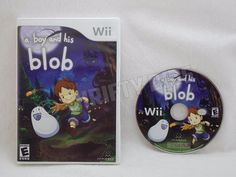 Nintendo Wii A Boy and His Blob 2009 NoManual Fully Tested Plays Well #Nintendo