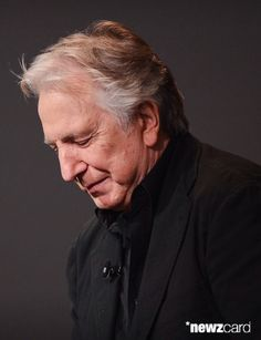"""June 19, 2015 - Actor Alan Rickman speaks about his film """"A Little Chaos"""" - during the AOL Build Speaker Series Presents: Alan Rickman at AOL Studios In New York City."""