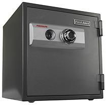 First Alert 2054F 1-Hour Steel Fire Safe with Combination Lock, 0.80 Cubic Foot, Gray