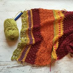 by Fifty Shades of 4 Ply Monsoon Stole Delight! http://justahappyhooker.blogspot.com/