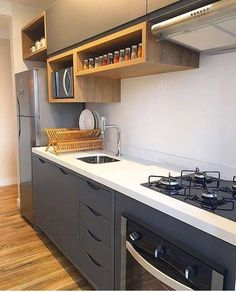 Home Decor Kitchen .Home Decor Kitchen Kitchen Cupboard Designs, Kitchen Room Design, Modern Kitchen Design, Kitchen Layout, Home Decor Kitchen, Interior Design Kitchen, Home Kitchens, Galley Kitchens, Kitchen Ideas