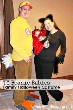 TY Beanie Babies Family Halloween Costumes: Wonderfully Made Pursuits
