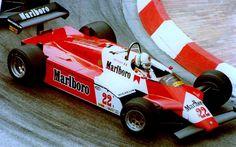 1982 Andrea de Cesaris, Alfa Romeo 182