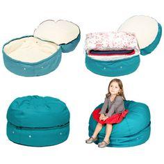 Bean Bag Chair Color: Aqua - http://delanico.com/bean-bag-chairs/bean-bag-chair-color-aqua-589236836/