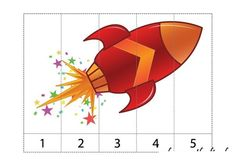 Space Crafts For Kids, Space Preschool, Numbers Preschool, Preschool Activities, Space Solar System, Token Economy, Space Classroom, Outer Space Theme, Space Games