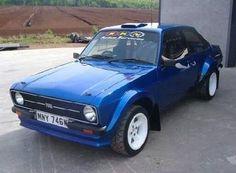 Mk2 Escort Escort Mk1, Ford Escort, Ford Rs, 70s Cars, Classic Car Restoration, Mk 1, British Rail, Rally Car, Vroom Vroom