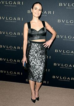 Jordana Brewster: Bulgari 'Decades of Glamour' Oscar Party - #VoiceOfStyle #Style