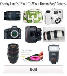Anyone feel free to buy me this camera bag!! Cheeky Lime!