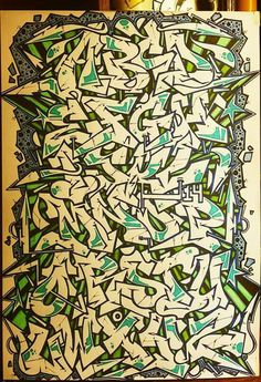 Graffiti Alphabet Styles, Graffiti Lettering Alphabet, Graffiti Text, Graffiti Words, Graffiti Writing, Graffiti Murals, Graffiti Styles, Graffiti Artists, Photographie Street Art