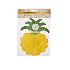 Paper Pineapple Garland - 3,5 m