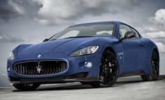New Limited edition Maserati GranTurismo S with a matte paint job (this photo doesn't do it justice click through for more images)