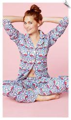 254b22caa3 Coral Flamingo Stretch Classic Bedhead Pajamas