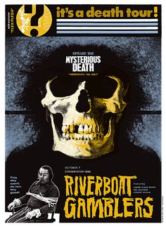 GigPosters.com - Riverboat Gamblers - Lower Class Brats - Accused, The - Violent Affair